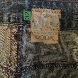 Lost Pants - LOST Distressed denim long pants.